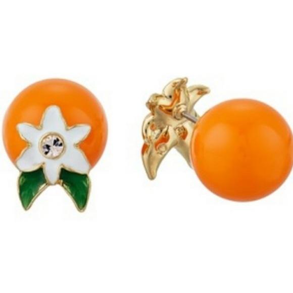 kate spade Jewelry - Kate Spade | Citrus Crush Orange Earrings